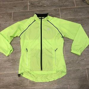 Sz M Medium Cycling Bike Canari Women's Solar Orange Radiant Windshell Jacket